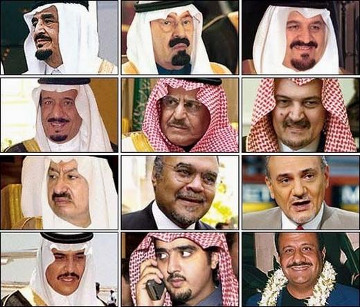 CONFESSIONS d'un espion britanniques, PERE du WAHABISME Famille-al-saoud