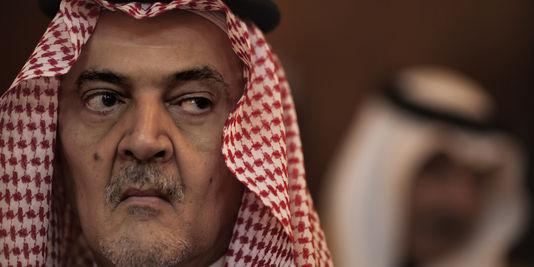 le ministre des affaires etrangeres saoudien